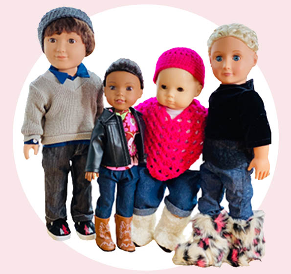 Custom Doll Fashions - For the dolly that doesn't want to dress like everyone else.